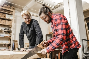 Jan Plecháč and Henry Wielgus Make Furniture Pieces for Křehký