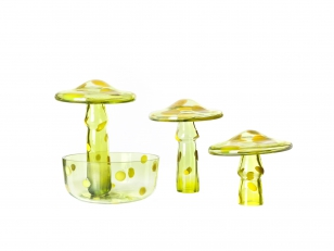Ineke Hans Has Designed Toadstools for Křehký