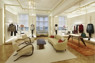 Louis Vuitton Opens Its Magnificently Designed New Boutique in Prague