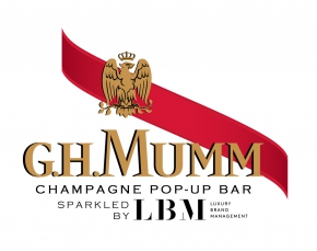 MUMM CHAMPAGNE POPUP BAR SPARKLED BY LBM
